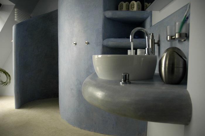 Tadelakt geschikt voor in de badkamer douche en keuken for Hammam salle de bain
