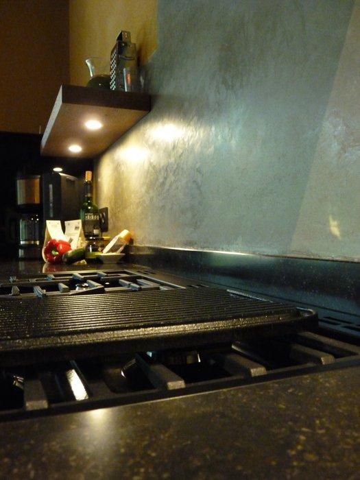 tadelakt keuken detail