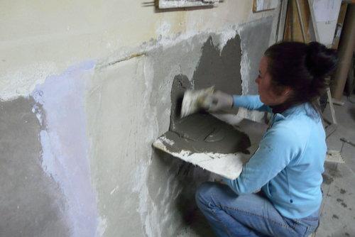 Tadelakt workshop leer het zelf doen for Renovlies zelf aanbrengen